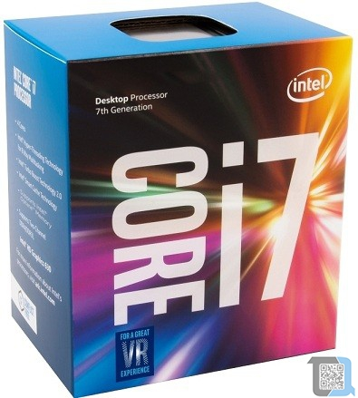 Intel Core i7-7700 ((8M Cache, 3.6GHz) SK 1151 Box