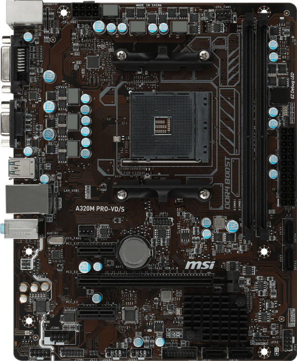 Mainboard MSI A320M PRO-VDS